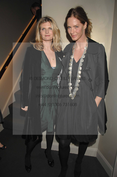 Left to right, SUSANNAH CONSTANTINE and TRINNY WOODALL at a party hosted by Kitts nightclub in honour of Ed Godrich to than him for his work on designing the club in Sloane Square, London on 1st March 2007.<br /><br />NON EXCLUSIVE - WORLD RIGHTS