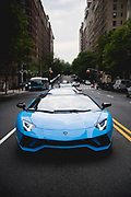 May 17, 2018: Lamborghini Aventador S Roadster press launch, New York City.