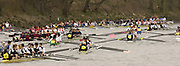 Chiswick, LONDON, ENGLAND, 25.03.2006, 2006 Head of the River Race. Crew wait to turn to start the 2006 Race. Mortlake to Putney. © Peter Spurrier/Intersport-images.com. 2006 Men's Head of the River Race, Rowing Course: River Thames, Championship course, Putney to Mortlake 4.25 Miles 2006 Men's Head of the River Race, Rowing Course: River Thames, Championship course, Putney to Mortlake 4.25 Miles