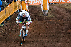 CANT Sanne (BEL) during Women Elite race, 2019 UCI Cyclo-cross World Cup Heusden-Zolder, Belgium, 26 December 2019. <br /> <br /> Photo by Pim Nijland / PelotonPhotos.com <br /> <br /> All photos usage must carry mandatory copyright credit (Peloton Photos | Pim Nijland)