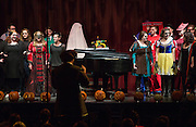 Students and faculty perform during the School of Music's Hallowpalooza Concert at the Templeton-Blackburn Alumni Memorial Auditorium on Oct. 29, 2014.