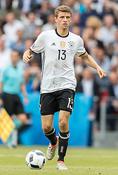 21.06.2016, Parc de Princes, Paris, FRA, UEFA Euro 2016, Nordirland vs Deutschland, Gruppe C, im Bild Thomas Mueller (GER) // X during Group C match between Nothern Ireland and Germany of the UEFA EURO 2016 France at the Parc de Princes in Paris, France on 2016/06/21. EXPA Pictures © 2016, PhotoCredit: EXPA/ JFK