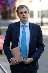 © Licensed to London News Pictures. 24/07/2018. London, UK. Chief Whip Julian Smith leaves Downing Street. Photo credit : Tom Nicholson/LNP