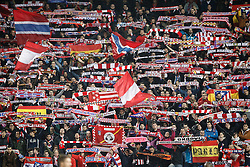 15-03-2016 ESP, UEFA CL, Atletico Madrid - PSV Eindhoven, Madrid<br /> Atletico de Madrid's supporters // during the UEFA Champions League Round of 16, 2nd Leg match between Atletico Madrid and PSV Eindhoven at the Estadio Vicente Calderon in Madrid, Spain on 2016/03/15. <br /> <br /> ***NETHERLANDS ONLY***