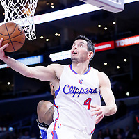 03 December 2014: Los Angeles Clippers guard J.J. Redick (4) goes for the layup during the Los Angeles Clippers 114-86 victory over the Orlando Magic, at the Staples Center, Los Angeles, California, USA.