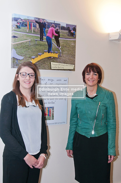 Youth Employment Minister Angela Constance visited Edinburgh company Juniper Play which supplies equipment for children's playgrounds to hear about its graduate recruitment on the day labour market statistics are published. The Minister met Kelly Kirkhope, a recent graduate from Stirling University who has a year's placement with Juniper Play under the ScotGrad scheme. Ger Harley | StockPix.EU
