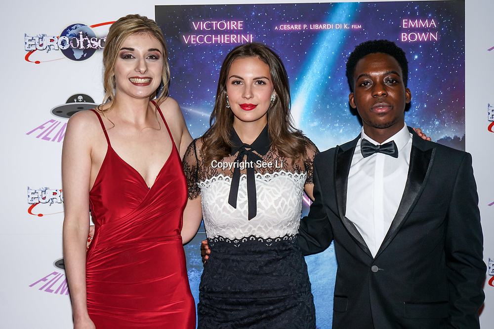London, England, UK. 14th September 2017.Cast Victoire Vecchierini,Veronica Osimani,Franck Assi attend the Landing Lake Film Premiere at Empire Haymarket,London, UK.