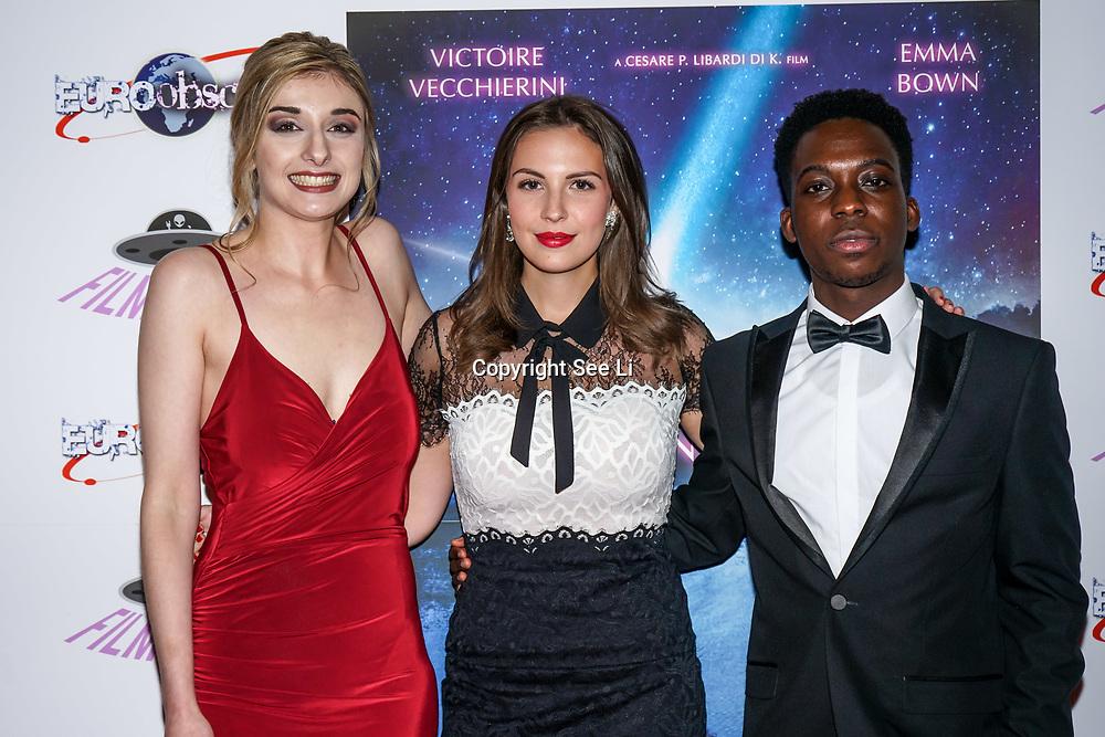 London, England, UK. 14th September 2017.Cast Victoire Vecchierini,Veronica Osimani,Franck Assi attend the Landing Lake Film Premiere at Empire Haymarket,London, UK.