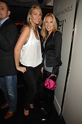 Left to right, OLIVIA BUCKINGHAM and IMOGEN LLOYD-WEBBER at a party to celebrate the launch of the Kova & T fashion label and to re-launch the Harvey Nichols Fifth Floor Bar, held at harvey Nichols, Knightsbridge, London on 22nd November 2007.<br /><br />NON EXCLUSIVE - WORLD RIGHTS