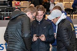 HAUNHORST Max (GER), STUEHLMEYER Patrick (GER), VAN HEEL Arne (NED)<br /> Neumünster - VR Classics 2019<br /> Impressionen Parcoursbesichtigung<br /> Int. Weltranglistenspringen mit Siegerrunde CSI3*<br /> Championat von Neumünster<br /> Preis der BEMER Int. AG<br /> 16. Februar 2019<br /> © www.sportfotos-lafrentz.de/Stefan Lafrentz