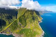 Papalaua Valley, North Shore, Molokai, Hawaii