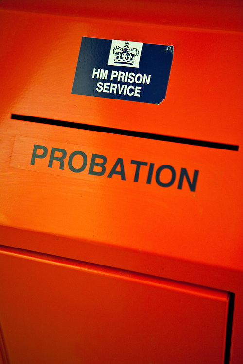 A red probation application box. HMP/YOI Askham Grange is a women's open prison serving the Yorkshire area with a capacity of 128 women. It has extensive education, training and mother and Baby facilities.