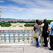 View from atop the Gloriette at Schonbrunn Palace
