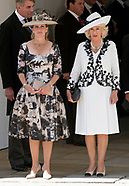 Royals Attend Order Of The Garter, Windsor Castle