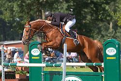Mertens Thomas (BEL) - Barok<br /> Nationaal Kampioenschap Jonge Paarden Merksplas 2011<br /> © Dirk Caremans