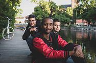 Young men in Uppsala, Sweden