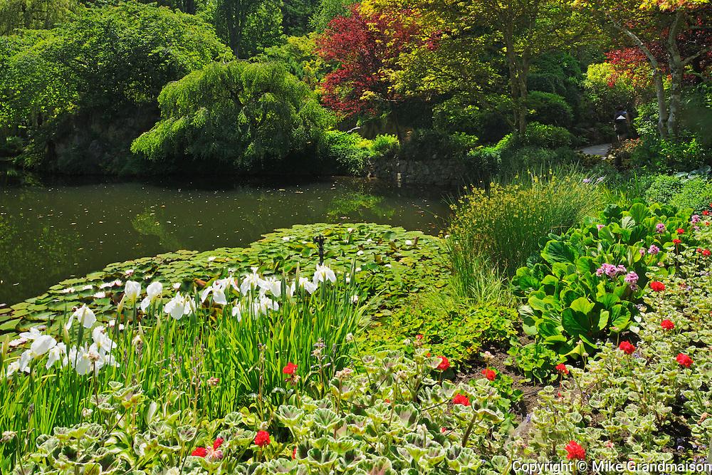 World Famous Butchart Gardens<br /> Victoria<br /> British Columbia<br /> Canada