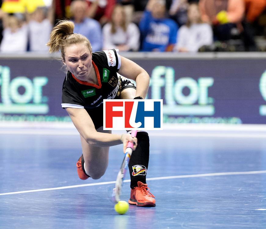BERLIN - Indoor Hockey World Cup<br /> Quarterfinal 3: Germany - Poland<br /> foto: Nike Lorenz.<br /> WORLDSPORTPICS COPYRIGHT FRANK UIJLENBROEK