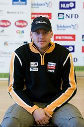 Mitja Dragsic of Slovenian Alpine Ski Team before new season 2008/2009, on Septembra 25, 2008, Ljubljana, Slovenia. (Photo by Vid Ponikvar / Sportal Images)
