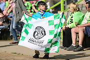 FGR fan during the EFL Sky Bet League 2 match between Forest Green Rovers and Grimsby Town FC at the New Lawn, Forest Green, United Kingdom on 5 May 2018. Picture by Shane Healey.