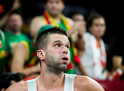 Mantas Kalnietis of Lithuania during basketball match between National Teams of Lithuania and Greece at Day 10 in Round of 16 of the FIBA EuroBasket 2017 at Sinan Erdem Dome in Istanbul, Turkey on September 9, 2017. Photo by Vid Ponikvar / Sportida
