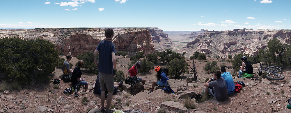 SHOT 5/20/17 12:12:52 PM - Emery County is a county located in the U.S. state of Utah. As of the 2010 census, the population of the entire county was about 11,000. Includes images of mountain biking, agriculture, geography and Goblin Valley State Park. (Photo by Marc Piscotty / © 2017)