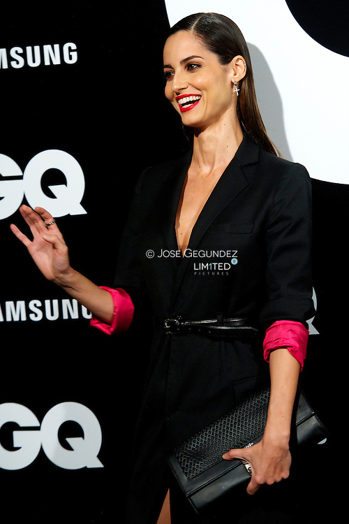 Ariadne Artiles attends 'GQ Men of the Year 2012' awards on November 19, 2012 in Madrid, Spain.