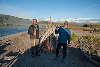 Van Beest Brothers, lower Kanektok River..Shot in Alaska, USA