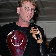NLD/Amsterdam/20120201 - Lancering LG Prada, Dan Bjork, directeur ijshotel Zweden