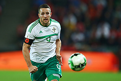 November 12, 2017 - Basel, Switzerland - Conor Washington of Northern Ireland  during the FIFA 2018 World Cup Qualifier Play-Off: Second Leg between Switzerland and Northern Ireland at St. Jakob-Park on November 12, 2017 in Basel, Basel-Stadt. (Credit Image: © Matteo Ciambelli/NurPhoto via ZUMA Press)