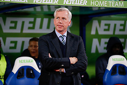 Crystal Palace Manager Alan Pardew looks on - Photo mandatory by-line: Rogan Thomson/JMP - 07966 386802 - 06/04/2015 - SPORT - FOOTBALL - London, England - Selhurst Park - Crystal Palace v Manchester City - Barclays Premier League.