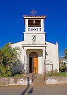 Church in Punta de La Sierra, Pinar del Rio, Cuba.