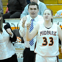 2.09.2011 Westlake at Midpark Girls Varsity Basketball