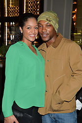 ASHLEY WALTERS and DANIELLE ISALE at a screening of 2 short films as part of the Corinthia Hotel's Artist in Residence held at The Corinthia Hotel, Northumberland Avenue, London on 12th May 2014.