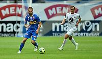 Fotball , 26. juli 2020 , Eliteserien , Sandefjord vs Mjøndalen<br /> <br /> Ruben Herraiz Alcaraz<br /> Stian Semb Aasmundsen