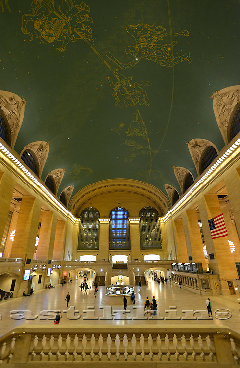 Interior of Grand Central Station