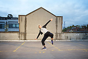 Dance Umbrella 2015 <br /> Launch <br /> Of Riders and Running Horses <br /> on the roof of the NCP car park Farringdon London Great Britain <br /> press photocall <br /> 13th October 2015 <br /> <br /> <br /> Tilly Webber <br /> <br /> <br /> Photograph by Elliott Franks <br /> Image licensed to Elliott Franks Photography Services