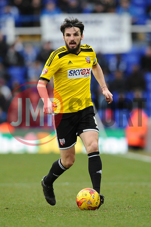 Brentford's Jonathan Douglas   - Photo mandatory by-line: Joe Meredith/JMP - Mobile: 07966 386802 - 28/02/2015 - SPORT - Football - Birmingham - ST Andrews Stadium - Birmingham City v Brentford - Sky Bet Championship