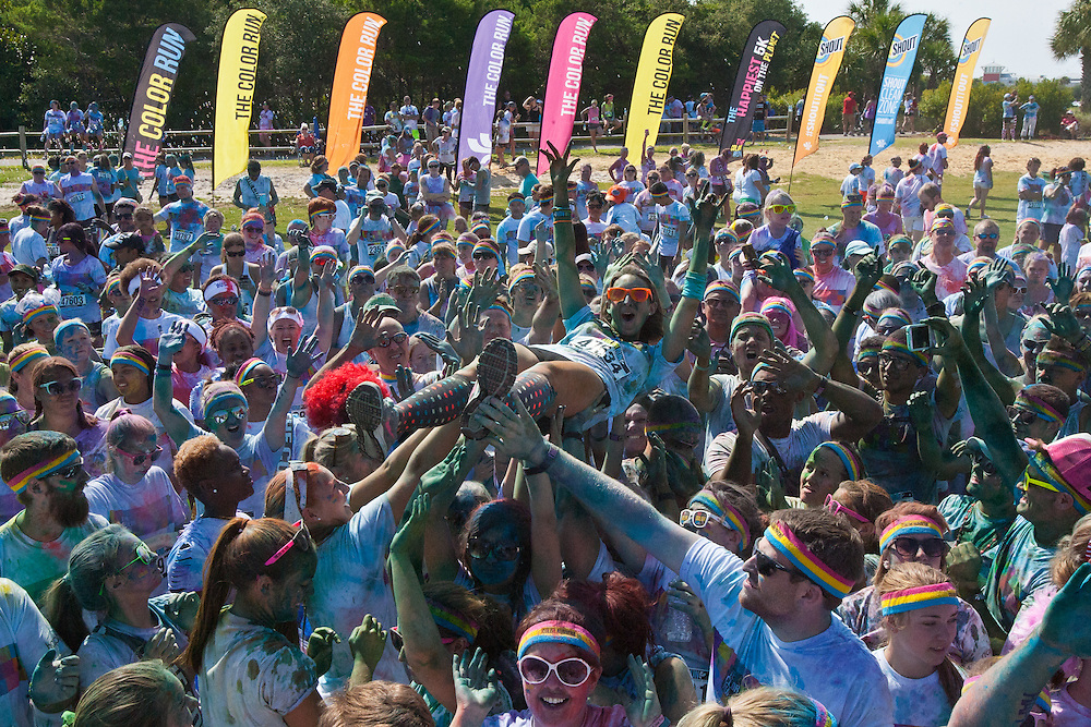 THE COLOR RUN, PANAMA CITY BEACH, FLORIDA