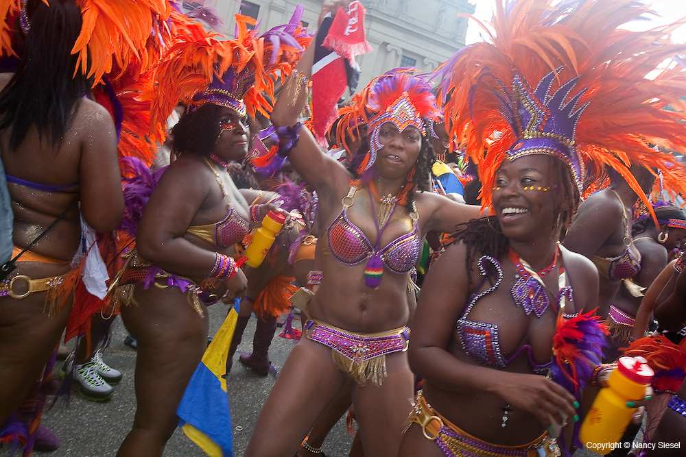 The 44th Annual West Indian Labor Day Parade , took place today on Eastern Parkway in Brooklyn. It is considered to be New York City's largest with 3.5 million particapants.