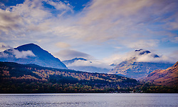 Looking across Loch Lomond from Inversnaid towards Inveruglas and the mountains beyond<br /> <br /> (c) Andrew Wilson   Edinburgh Elite media