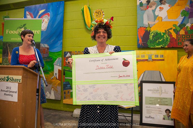 Debbie Field, FoodShare Executive Director