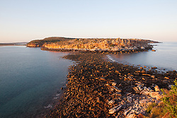 Early morning light from the top of Hall Point in Camden Sound.