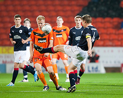 Dundee Utd's Lauri Dalle Valle & Darren Dods..Half-time. Dundee Utd 0 v 0 Falkirk. Scottish Communities League Cup, 25/10/2011..Pic © Michael Schofield.