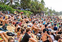 December 16, 2018 - Pupukea, Hawaii, U.S. - Massive crowd for an exciting Round 2 and Round 3 of the 2018 Billabong Pipe Masters while. (Credit Image: © Kelly Cestari/WSL via ZUMA Wire)
