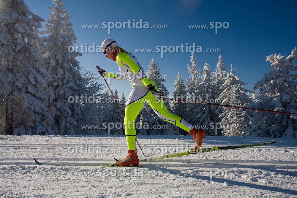 Anja Erzen of Slovenia at Ladies 15 km  Classic Mass Start Competition of Viessmann Cross Country FIS World Cup Rogla 2009, on December 20, 2009, in Rogla, Slovenia. (Photo by Vid Ponikvar / Sportida)