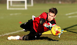 Fabian Giefer of Bristol City takes part in training - Mandatory by-line: Robbie Stephenson/JMP - 19/01/2017 - FOOTBALL - Bristol City Training Ground - Bristol, England - Bristol City Training
