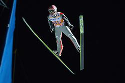 21.11.2014, Vogtland Arena, Klingenthal, GER, FIS Weltcup Ski Sprung, Klingenthal, Herren, HS 140, Qualifikation, im Bild Severin Freund (GER) // during the mens HS 140 qualification of FIS Ski jumping World Cup at the Vogtland Arena in Klingenthal, Germany on 2014/11/21. EXPA Pictures © 2014, PhotoCredit: EXPA/ Eibner-Pressefoto/ Harzer<br /> <br /> *****ATTENTION - OUT of GER*****