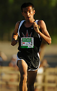 Oct, 20, 2006; Walnut, CA, USA; Fawad Khan of Palos Verdes wins the boys Division III sweepstakes race in 15:41 over the 2.91-mile course in the 59th Mt. San Antonio College Cross Country Invitational.
