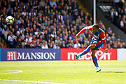 Crystal Palace midfielder Jason Puncheon has a shot on goal during the Premier League match between Crystal Palace and Hull City at Selhurst Park, London, England on 14 May 2017. Photo by Andy Walter.